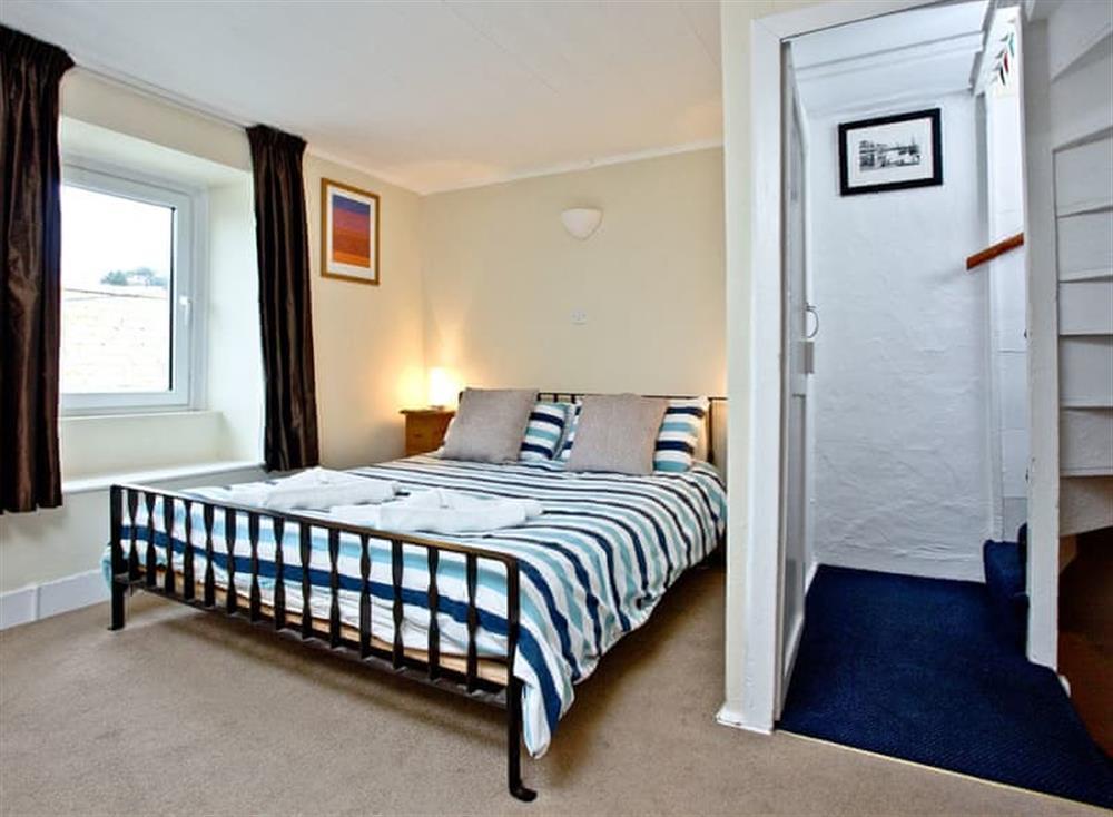 Double bedroom at Pilgrims Cottage in Brixham, South Devon