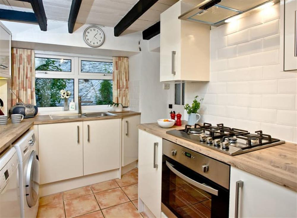 Kitchen (photo 2) at Pilgrims Cottage in Brixham, South Devon