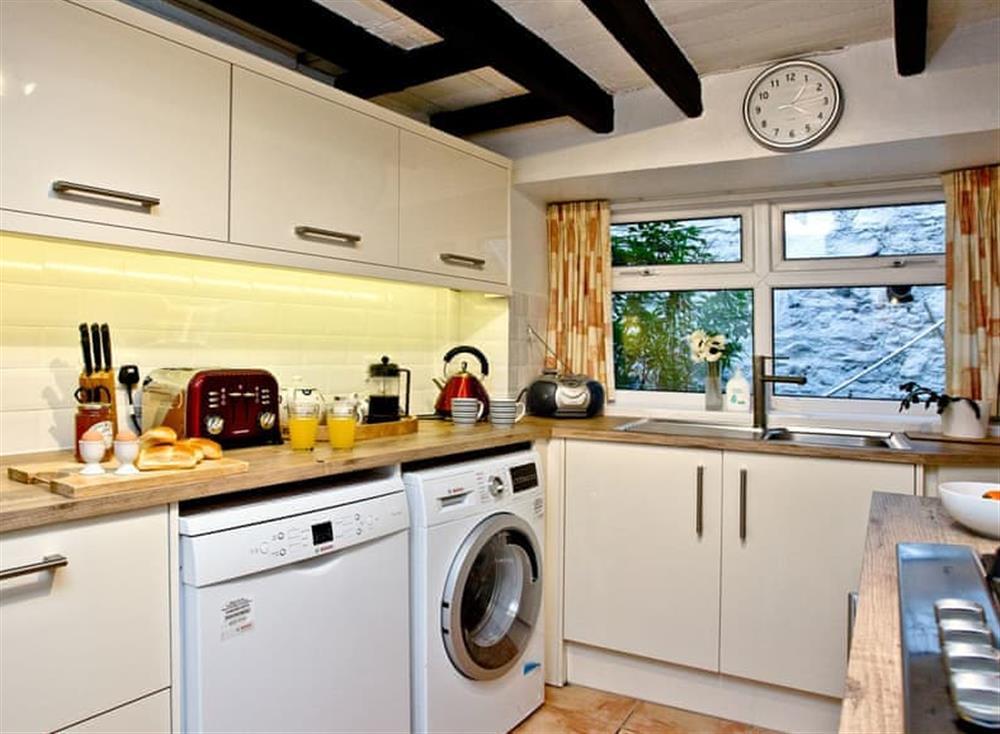 Kitchen (photo 3) at Pilgrims Cottage in Brixham, South Devon