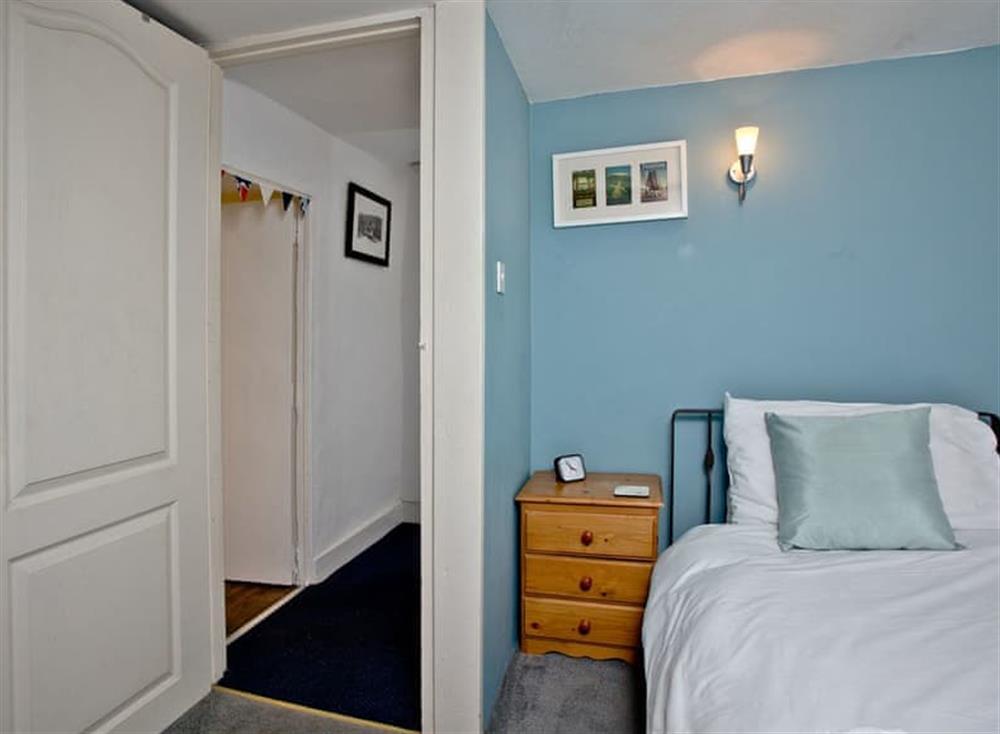 Single bedroom at Pilgrims Cottage in Brixham, South Devon