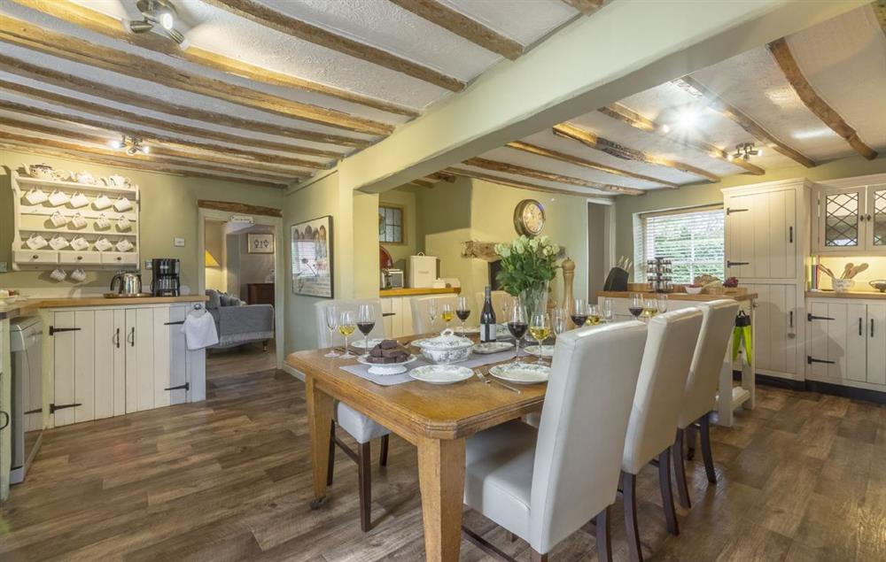 Ground floor: Large kitchen/dining room at Pillar Box House, Hackford