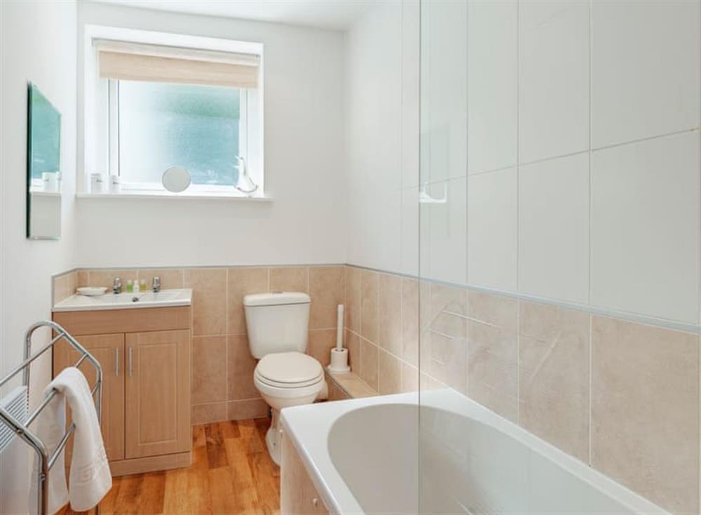 Bathroom at Pilots Perch in Brixham, Devon