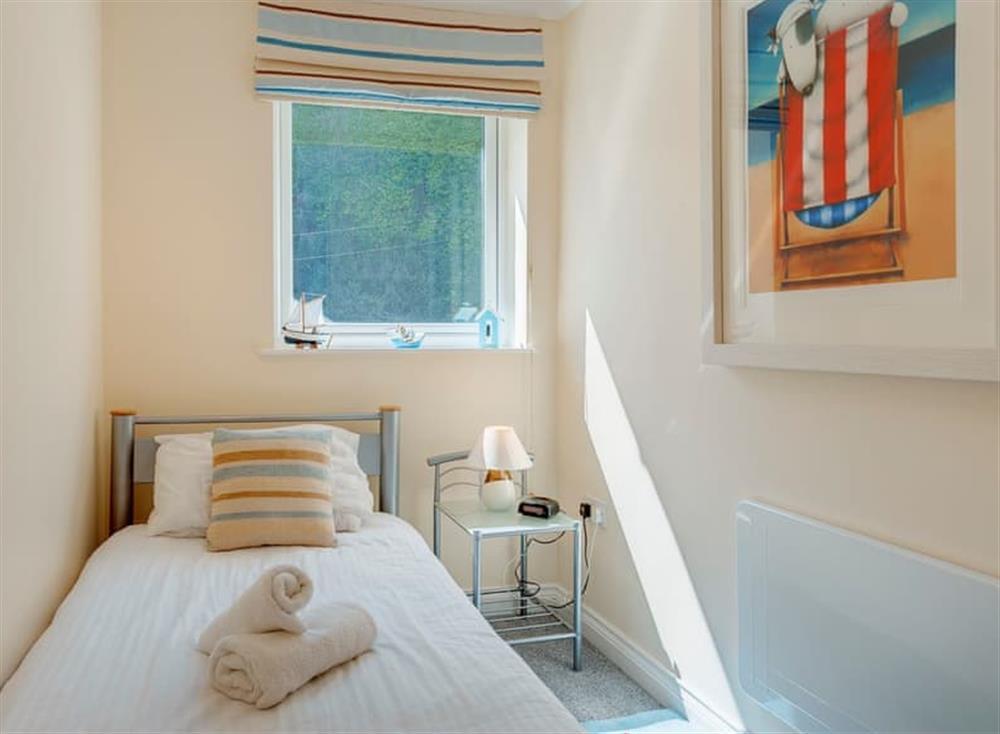 Single bedroom at Pilots Perch in Brixham, Devon