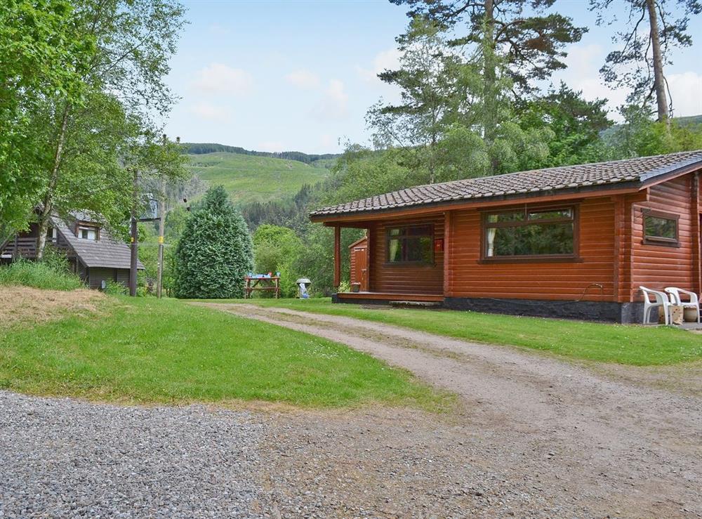Exterior at Pine Cottage in Strathyre, near Callander, Perthshire