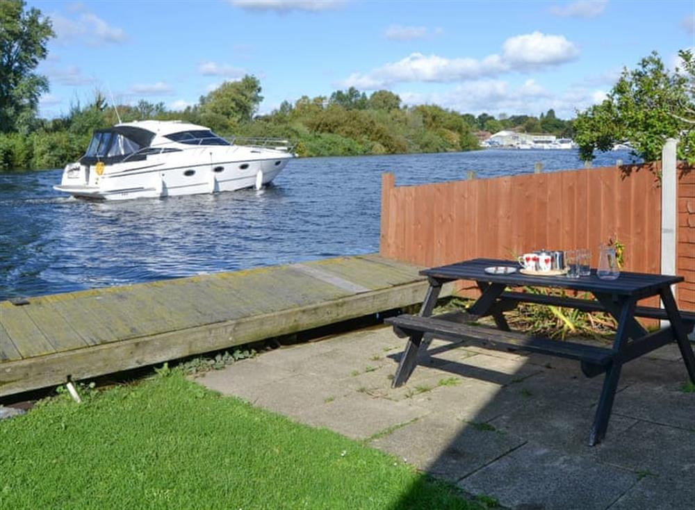 Outstanding riverside location at Pintail in Brundall, near Norwich, Norfolk