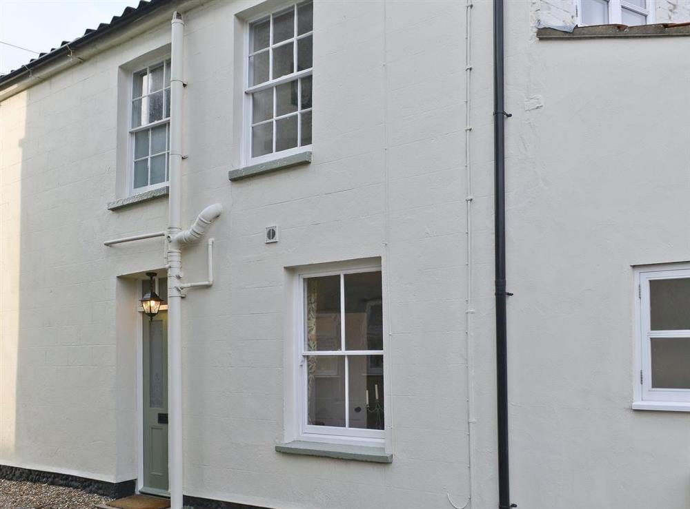 Side view of property at Pippin Cottage in Holt, Norfolk