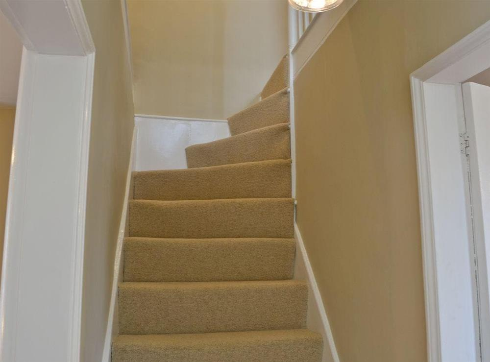 Stairs at Pippin Cottage in Holt, Norfolk