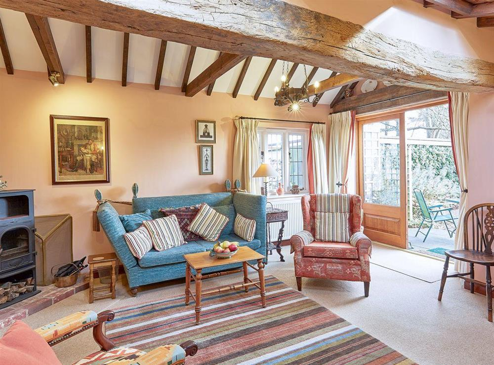 Charming living room at Pippins in Great Hautbois, near Coltishall, Norfolk