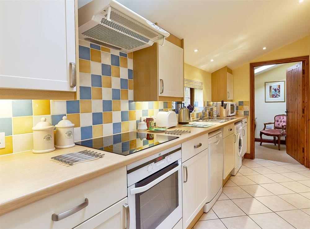 Kitchen at Pippins in Great Hautbois, near Coltishall, Norfolk