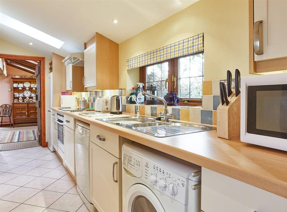 Well presented kitchen at Pippins in Great Hautbois, near Coltishall, Norfolk