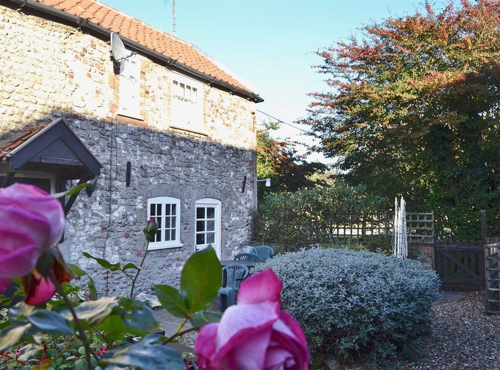 Exterior at Pitts Cottage in Brancaster, Norfolk., Great Britain