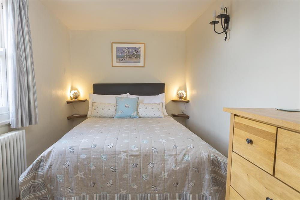 Double bedroom at Pixie Cottage in , Dartmouth