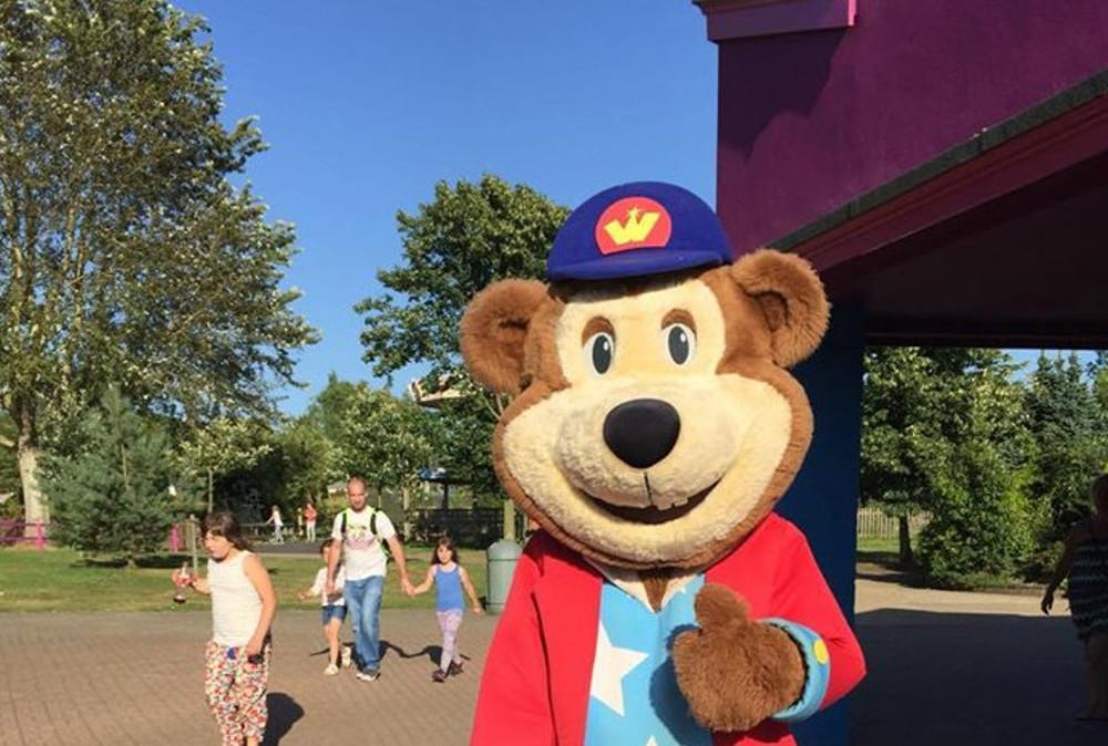 Woody Bear at Pleasurewood Hills