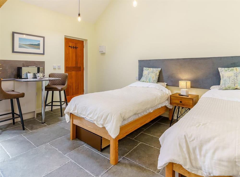 Open plan living space at Plough & Harrow Cottages- Plough and Harrow 4 in Monknash, near Cowbridge, Glamorgan, South Glamorgan