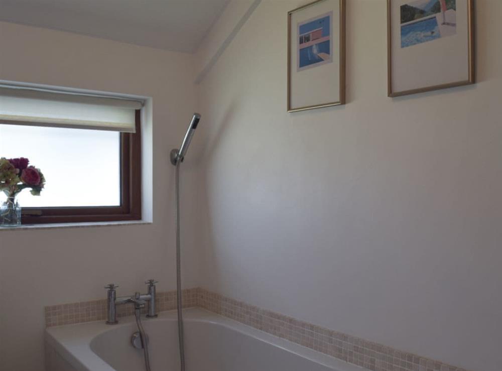 Bathroom at Pond Cottage in Somerleyton, near Lowestoft, Suffolk