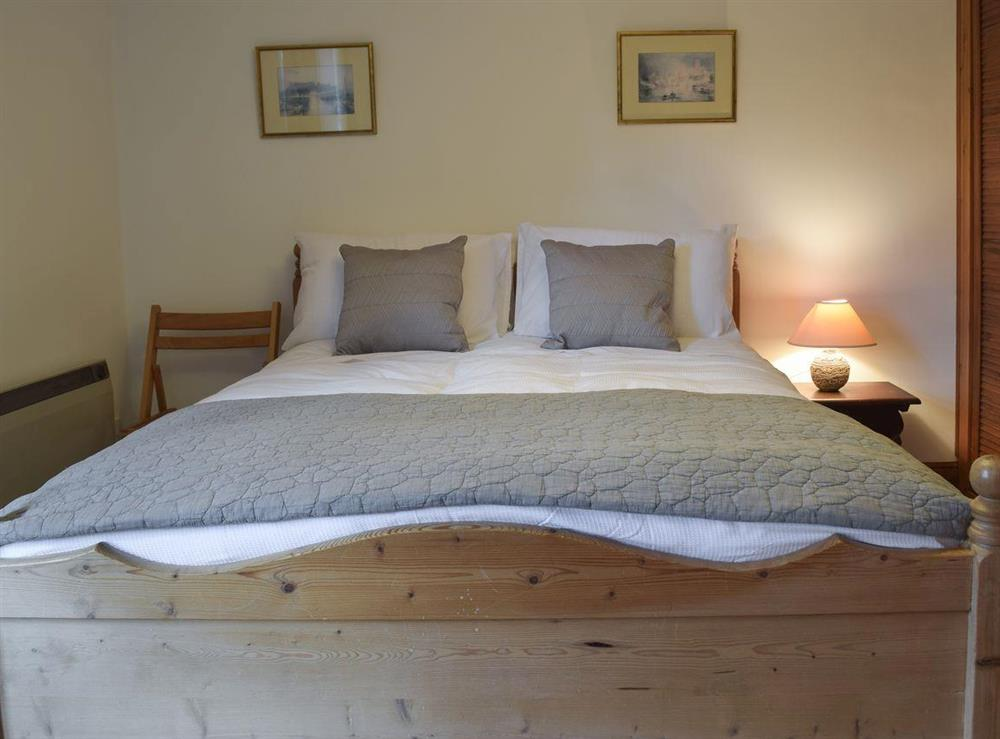 Double bedroom at Pond Cottage in Somerleyton, near Lowestoft, Suffolk