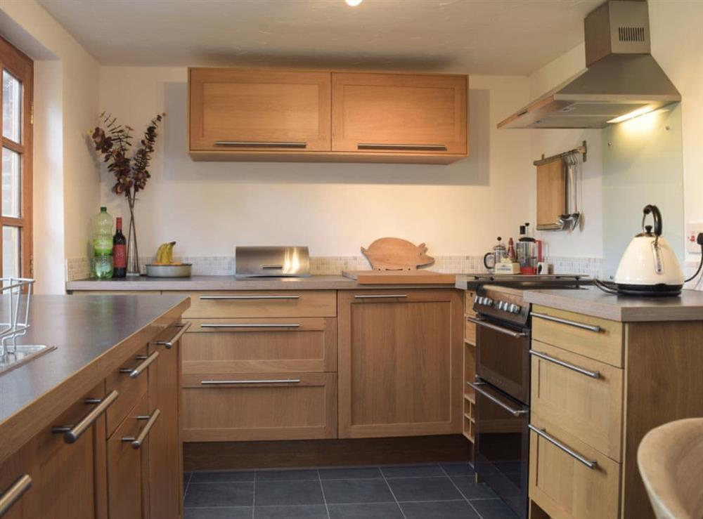 Kitchen at Pond Cottage in Somerleyton, near Lowestoft, Suffolk