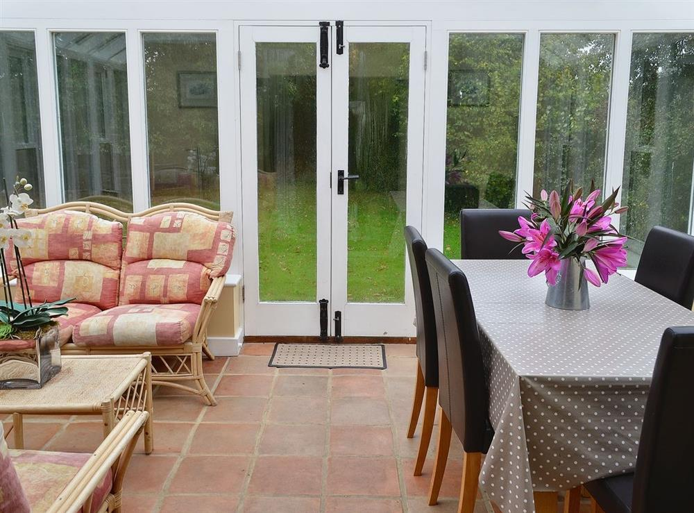 Conservatory at Pond in Semley, Shaftesbury, Dorset