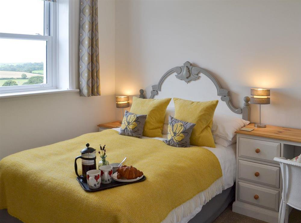 Double bedroom at Poppy Cottage in Blackawton, near Dartmouth, Devon