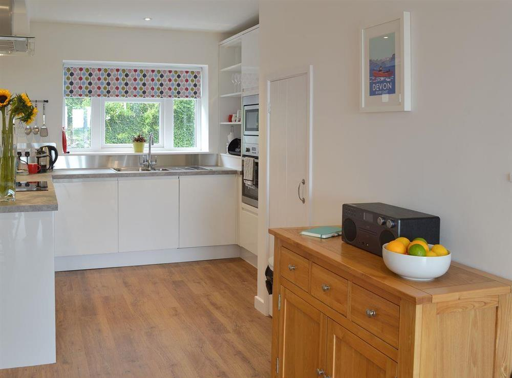 Open plan living space (photo 4) at Poppy Cottage in Blackawton, near Dartmouth, Devon
