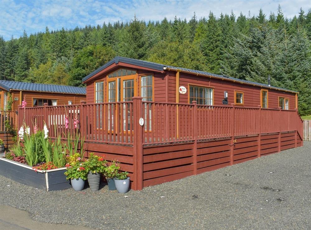 Exterior at Poppy Lodge in Glendevon, near Auchterarder, Clackmannanshire