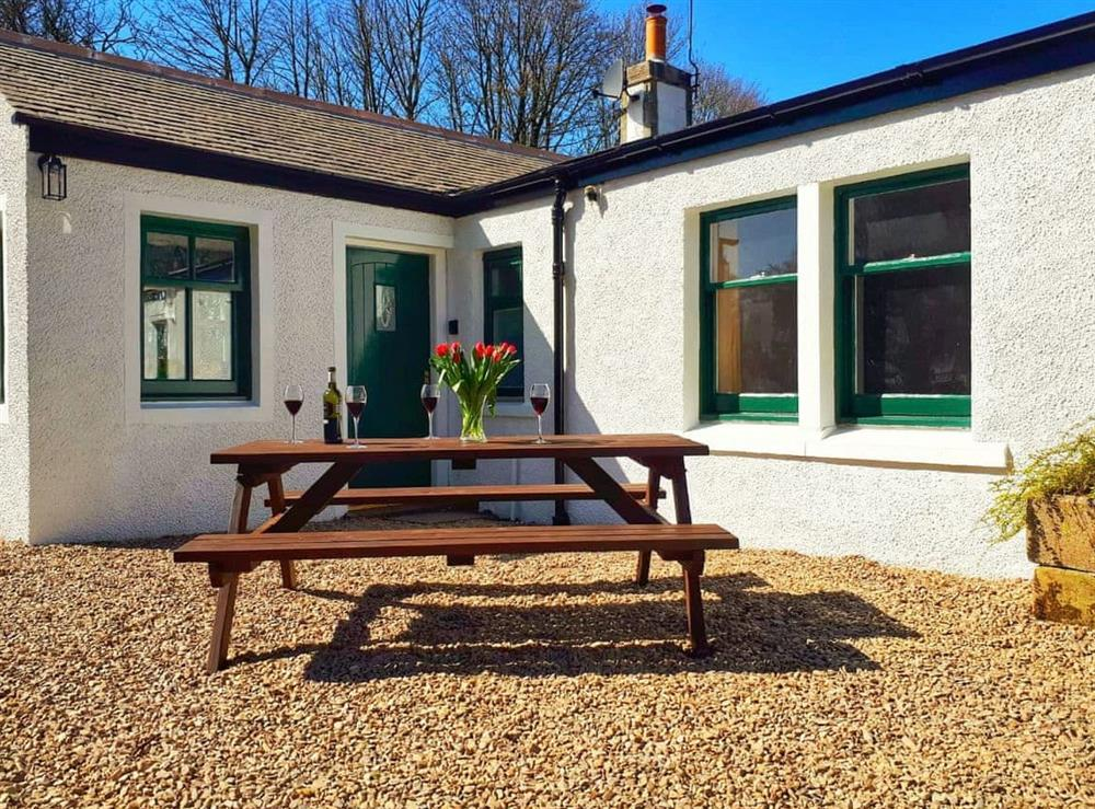 Exterior at Porters Lodge in Banff, Aberdeenshire