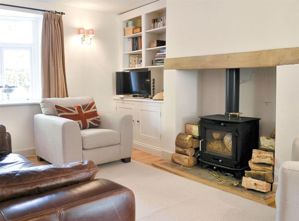 Living room/dining room at Portland Cottage in Helhoughton, near Fakenham, Norfolk