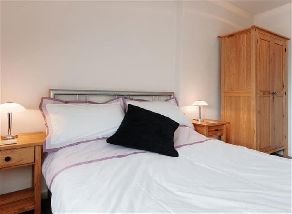 Double bedroom at Porto Seguro in Brixham, Devon