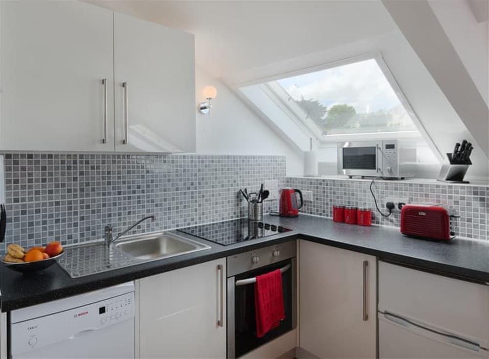 Kitchen at Porto Seguro in Brixham, Devon