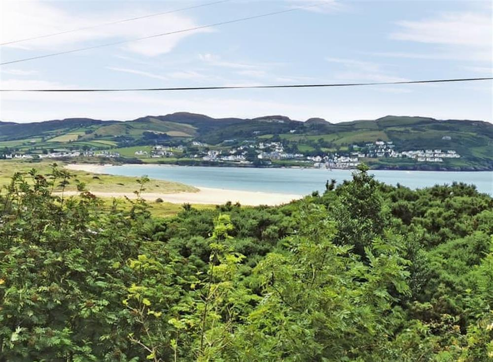 Stunning views from property at Portsalon Seaside Resort in Near Portsalon, County Donegal, Ireland