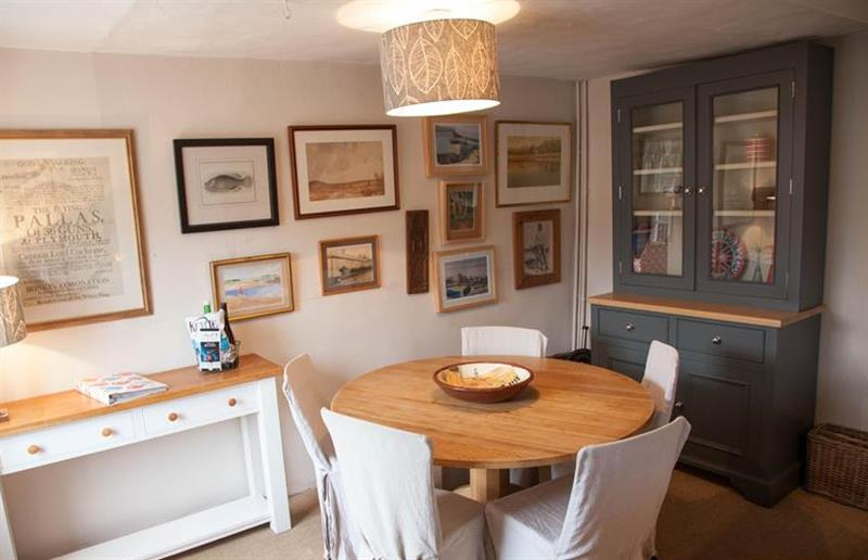 Dining room at Post Mill Cottage, Burnham Overy Staithe near Kings Lynn, Norfolk