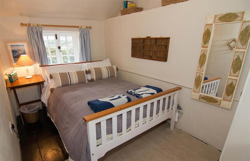 Double bedroom at Post Mill Cottage, Burnham Overy Staithe near Kings Lynn, Norfolk