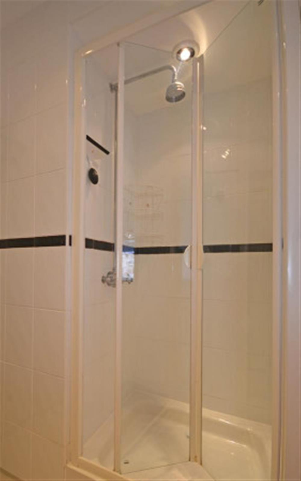 Another view of the shower room.  at Preston House Barn, Moreleigh