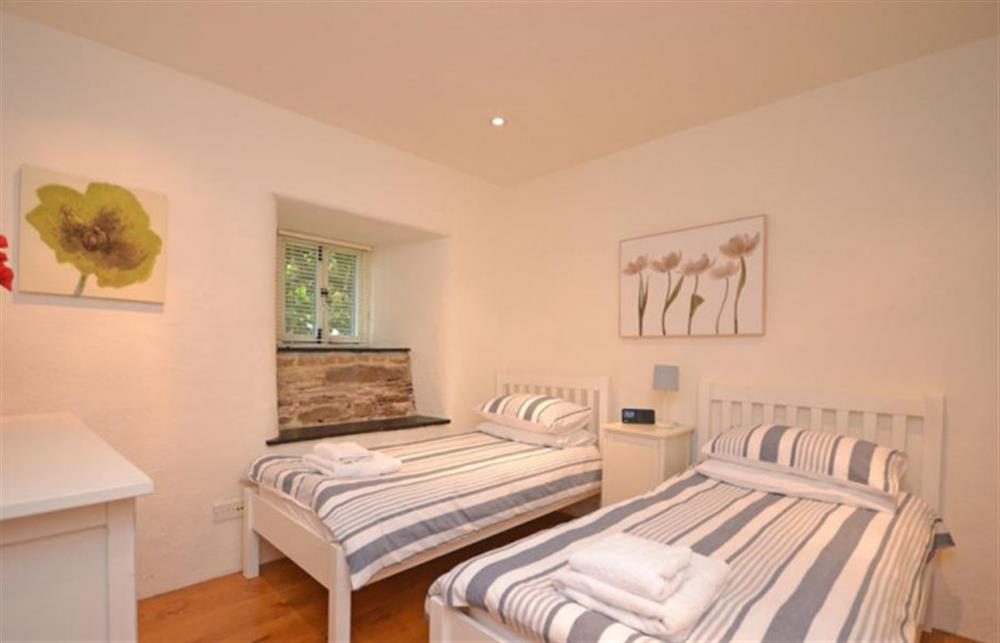 Another view of the twin bedroom.  at Preston House Barn, Moreleigh