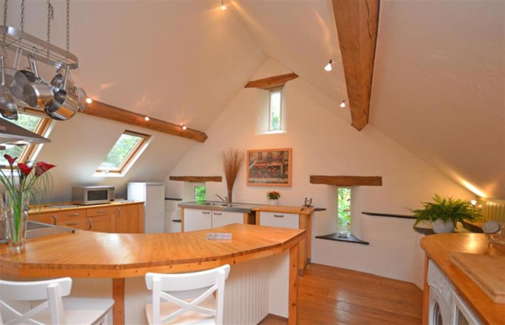 Close up of the kitchen at Preston House Barn, Moreleigh