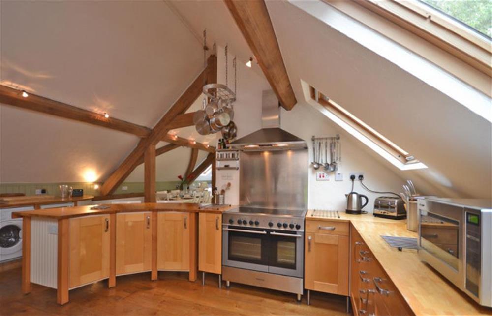 Kitchen at Preston House Barn, Moreleigh