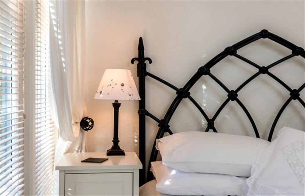 Second bedroom touches at Preston House Barn, Moreleigh