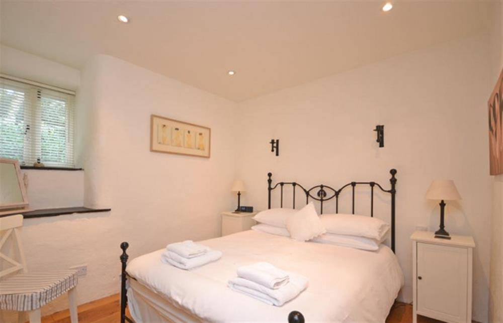 The first bedroom at Preston House Barn, Moreleigh