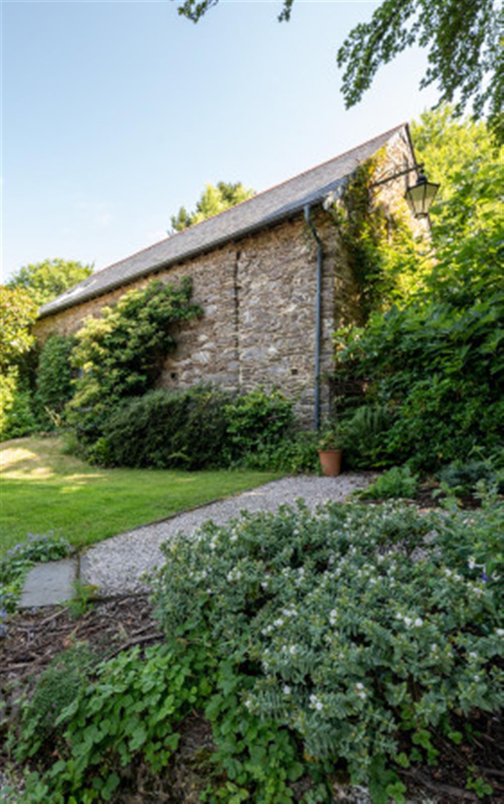 This is the garden at Preston House Barn, Moreleigh