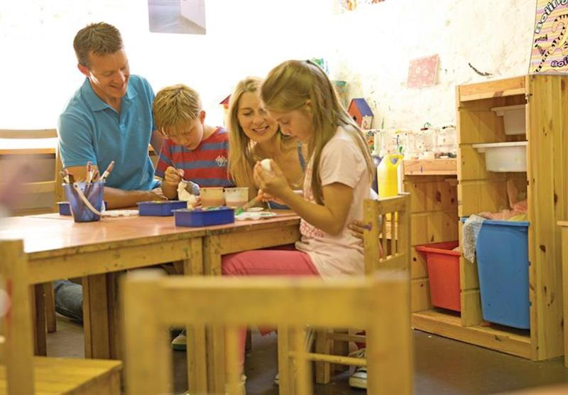 Children's craft room