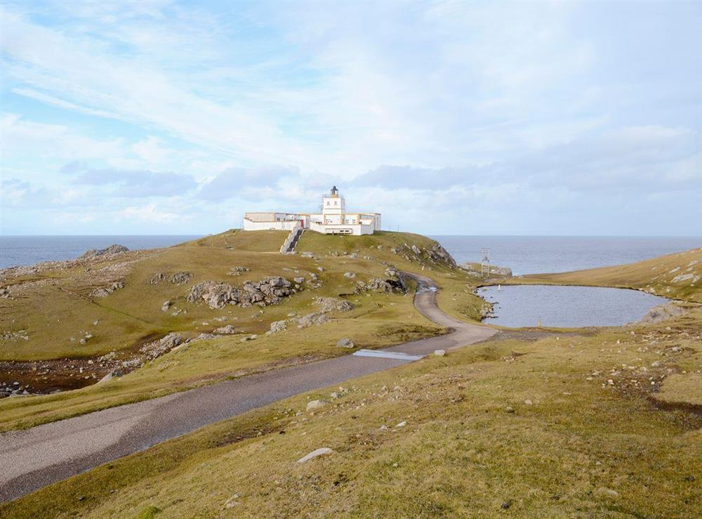 Spectacular, unique holiday home at Principal Lighthouse Keepers Cottage in Strathy, near Thurso, Highlands, Caithness
