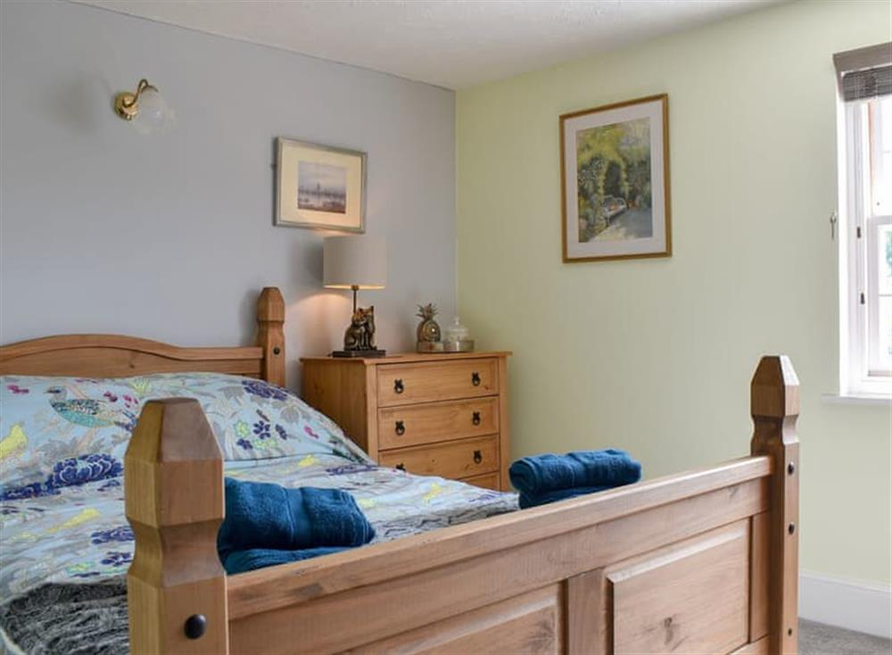 Comfortable double bedroom at Puddingmoor Cottage in Beccles, Suffolk
