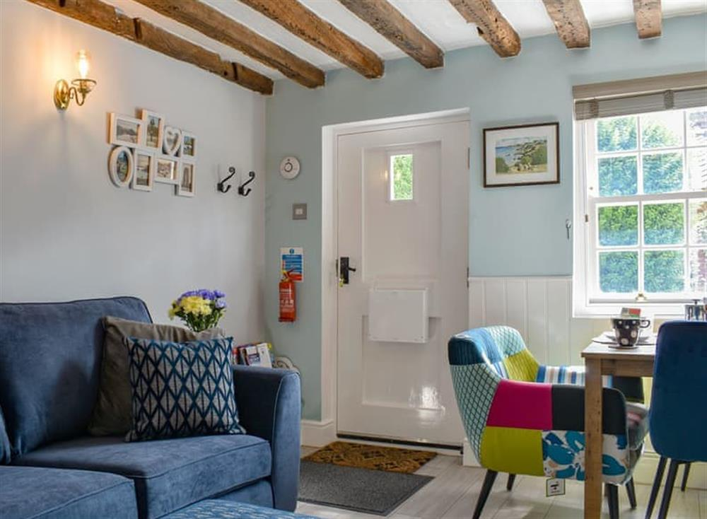 Delightful living/ dining room at Puddingmoor Cottage in Beccles, Suffolk