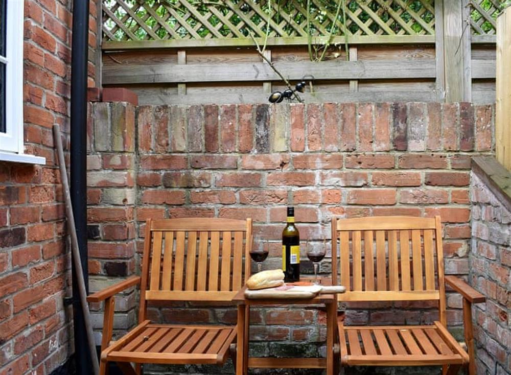 Sitting-out-area (photo 2) at Puddingmoor Cottage in Beccles, Suffolk