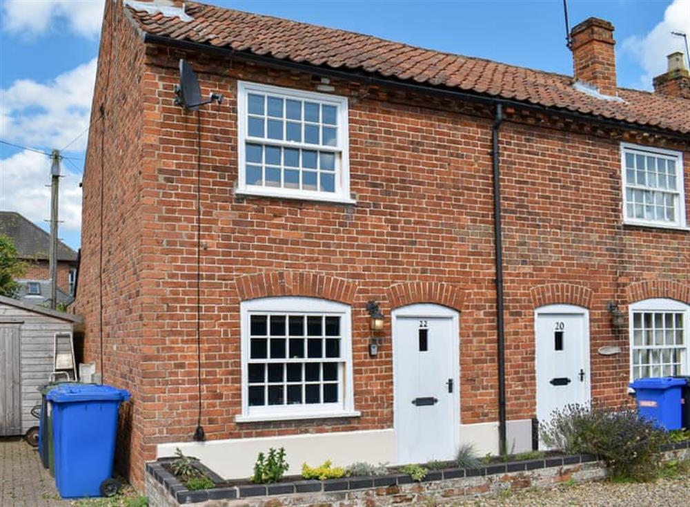 Wonderful holiday home at Puddingmoor Cottage in Beccles, Suffolk