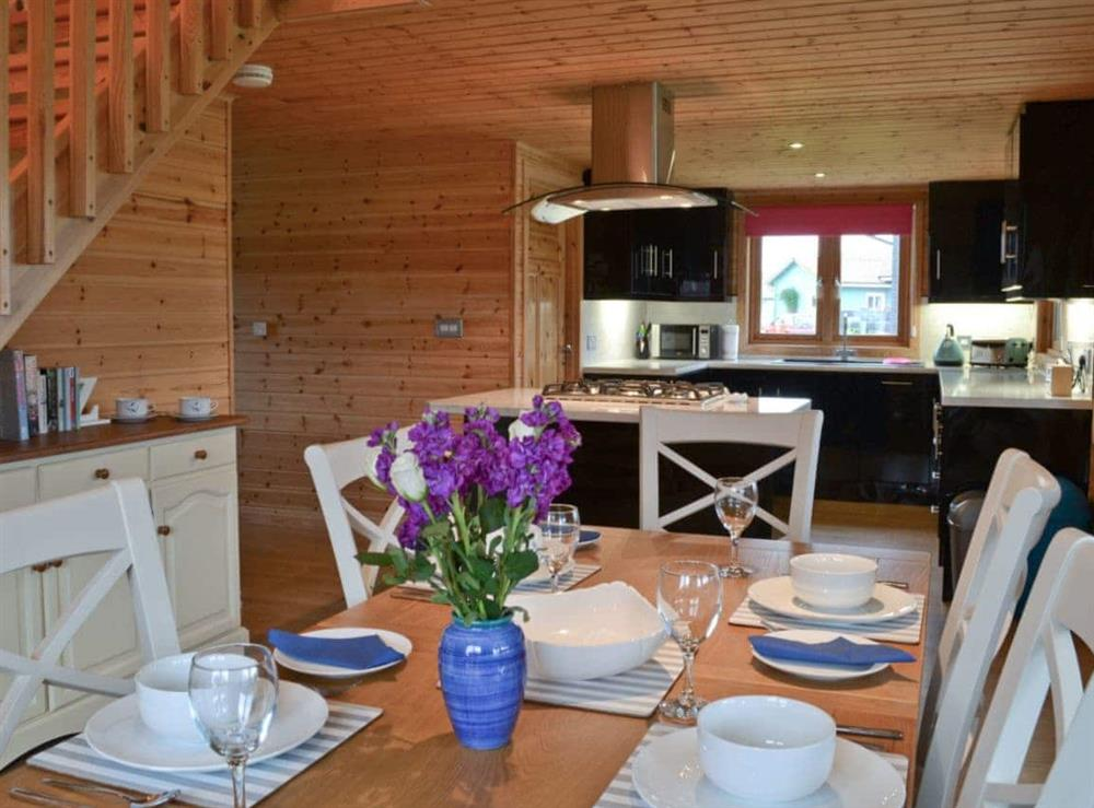 Kitchen/diner at Puddleduck in Fritton, near Great Yarmouth, Norfolk
