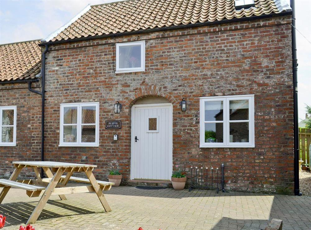 Attractive barn conversion at Puffin Cottage in Buckton, near Flamborough, North Humberside