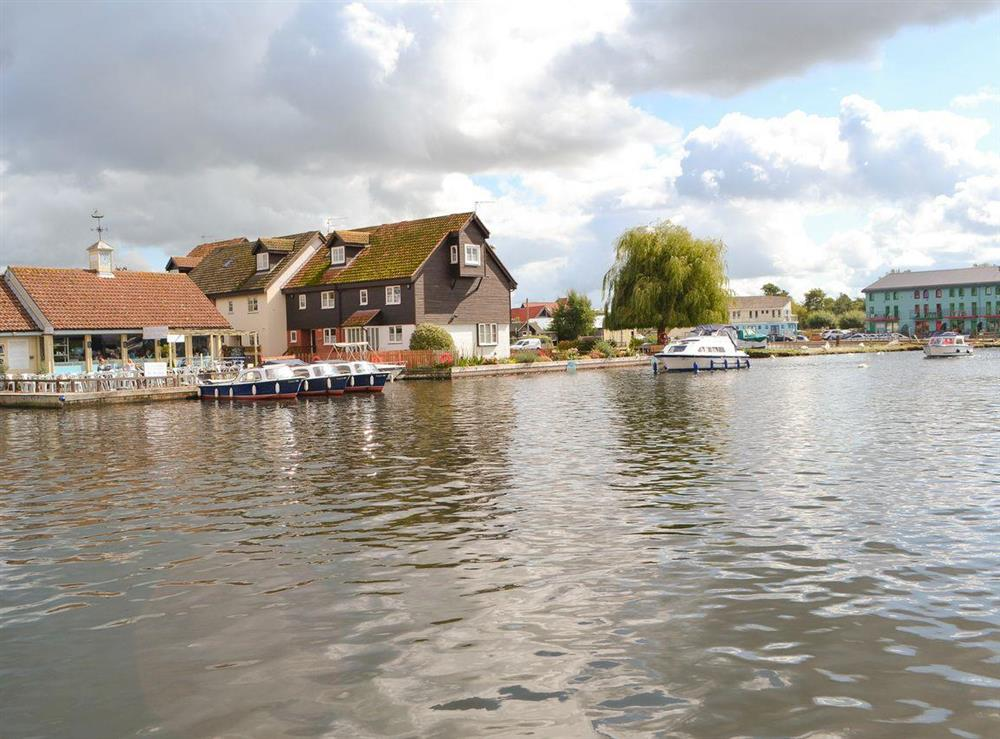 Fantastic scenery at Puffin Cottage in Wroxham, Norfolk