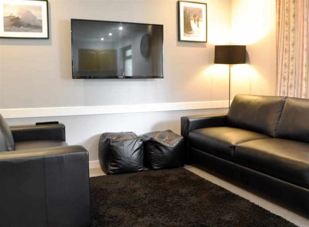Living area at Dubh Sgeir,