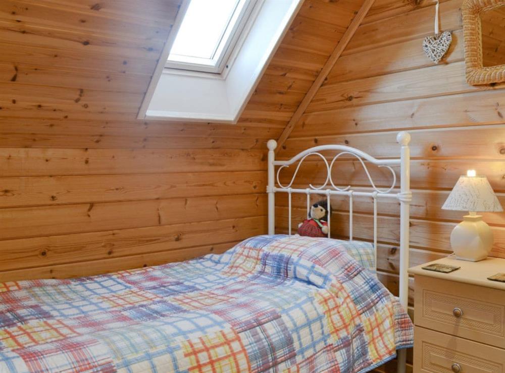 Single bedroom at Quarry Lodge in Munsley, near Ledbury, Herefordshire